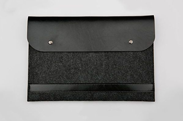 Funnylive Leather Laptop Bag