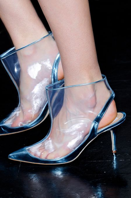 Photo 38 from Clear PVC shoes, S/S 2012