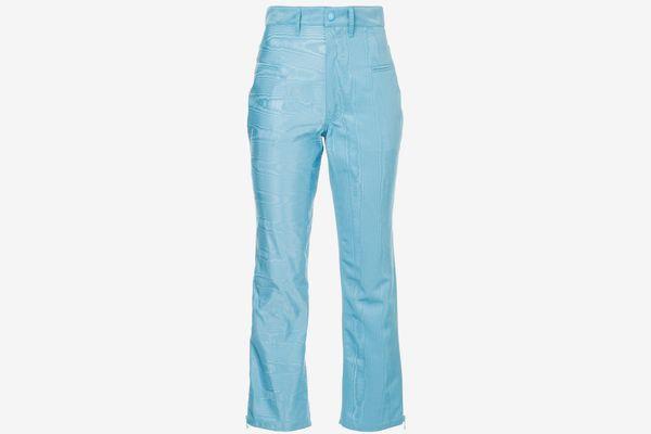 Marine Serre Moire Trousers