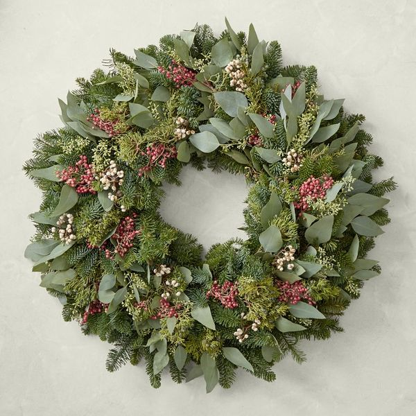 Triple Berry Wreath