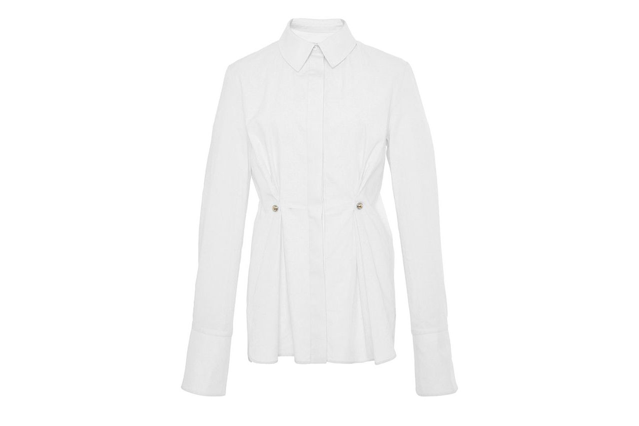 Carven Pleated Shirt