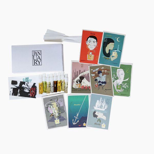 January Scent Project Sampler Kit