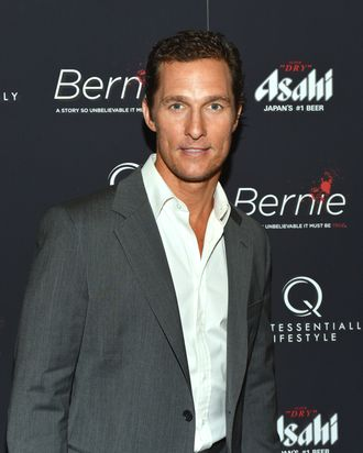 Actor Matthew McConaughey attends the