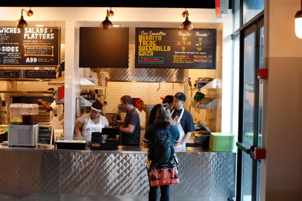 Roving Burrito Specialists B'klyn Burro Have Landed at Berg'n