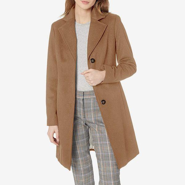 Calvin Klein Classic Cashmere Wool Blend Coat