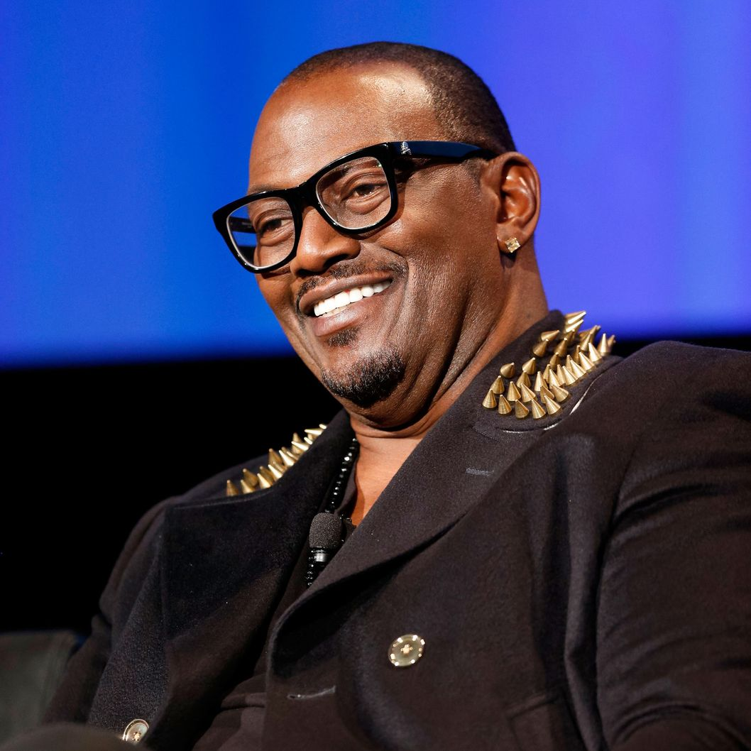 Television personality Randy Jackson speaks during a live Q&A during the season premiere screening of Fox's 'American Idol' at Royce Hall, UCLA on January 9, 2013 in Westwood, California.