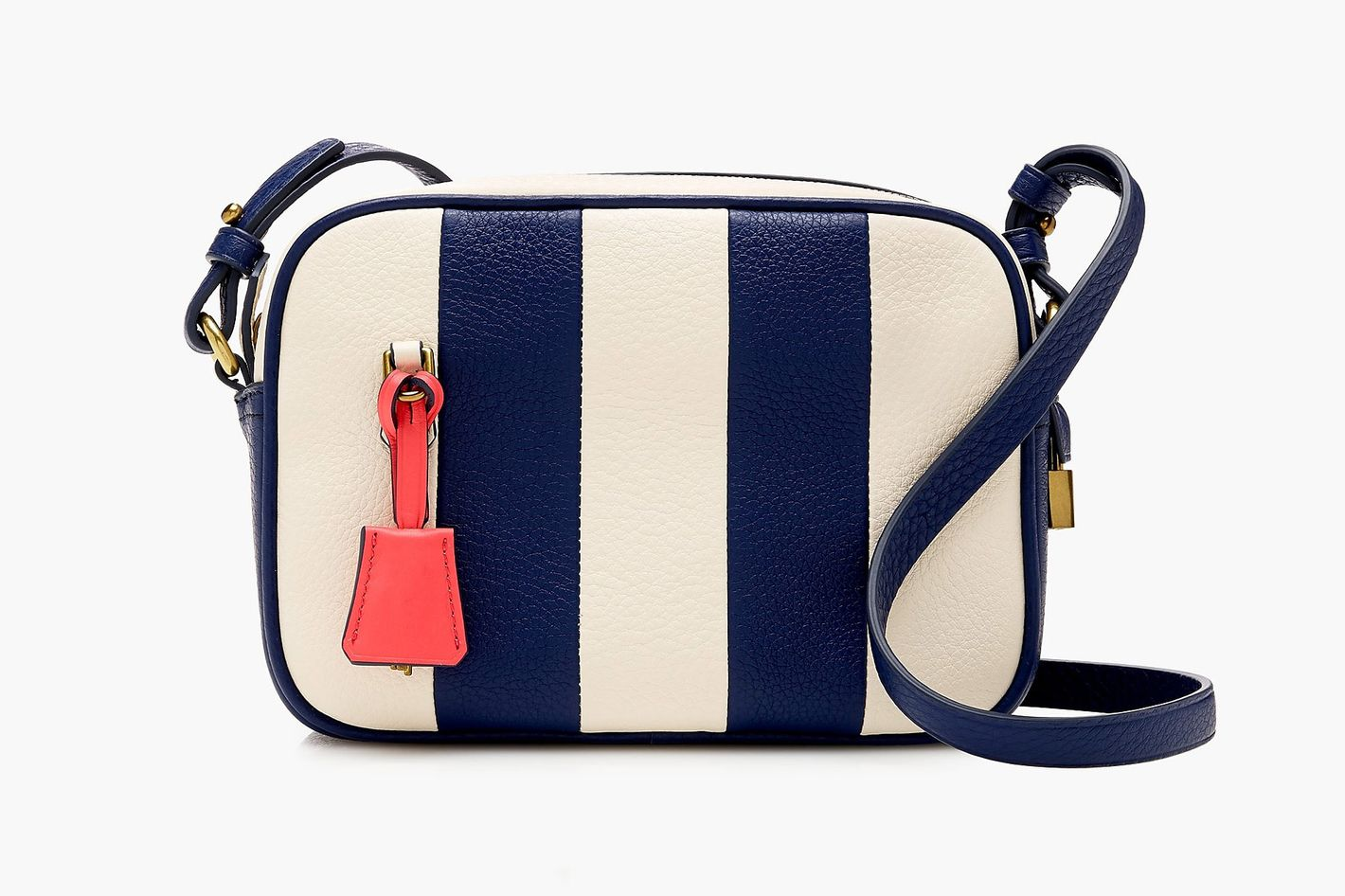 Striped Signet Bag