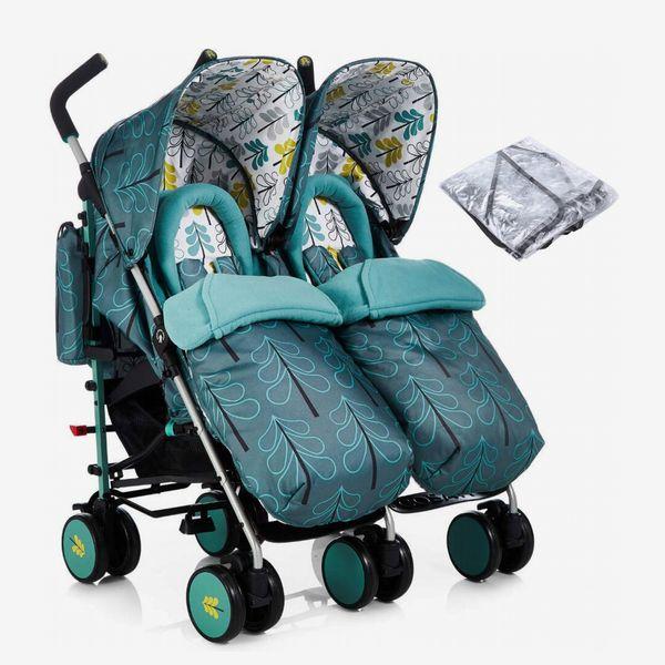 Cosatto Supa Dupa Twin Pushchair Stroller-Fjord, £259.95