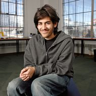 Aaron Swartz is the 19-year-old co-founder of reddit.com in San Francisco.