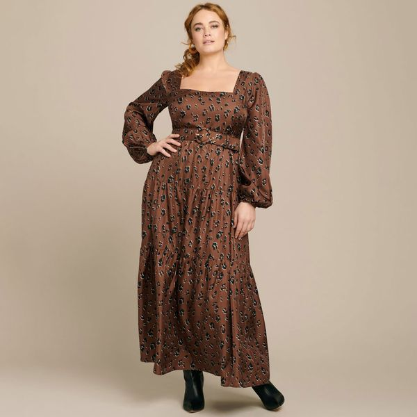 Nicholas Tiered Maxi Dress