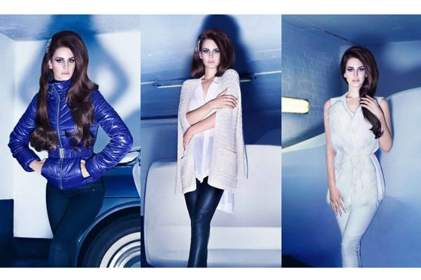 Lana Del Rey's winter H&M ads. No unicorn bush in sight, though.