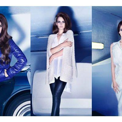Lana Del Rey's winter H&M ads. No unicorn bush in sight, though.