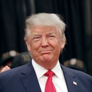 Presidential Candidate Donald Trump Holds A Staten Island News Conference