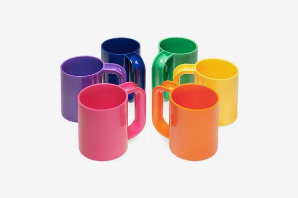Massimo Vignelli Rainbow Mugs