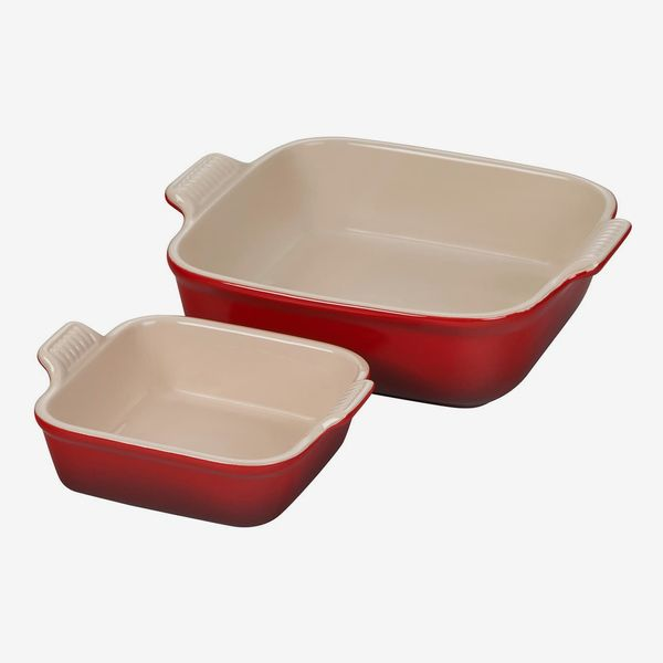 Le Creuset Heritage Set of 2 Square Baking Dishes
