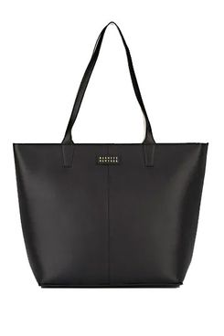 Barneys New York Large Leather Tote Bag