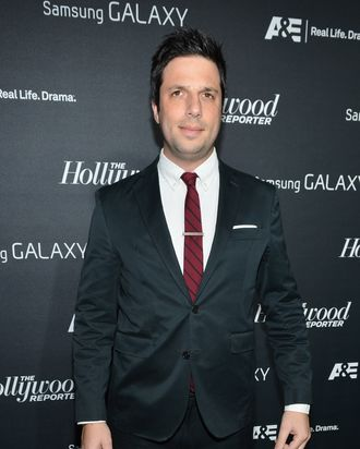 LOS ANGELES, CA - NOVEMBER 07: Actor David Caspe attends The Hollywood Reporter Toasts The Next Gen Class Of 2012 on November 7, 2012 in Los Angeles, California. (Photo by Alberto E. Rodriguez/Getty Images)