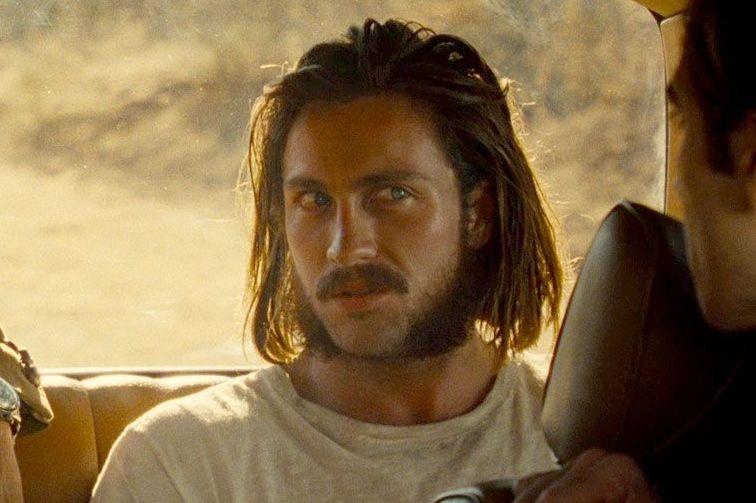 Tom Ford Personally Shaved Aaron Taylor-Johnson's Golden Globe–Winning Mutton Chops