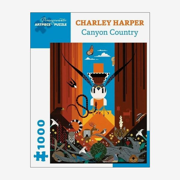 Charley Harper Canyon Country 1000-Piece Jigsaw Puzzle