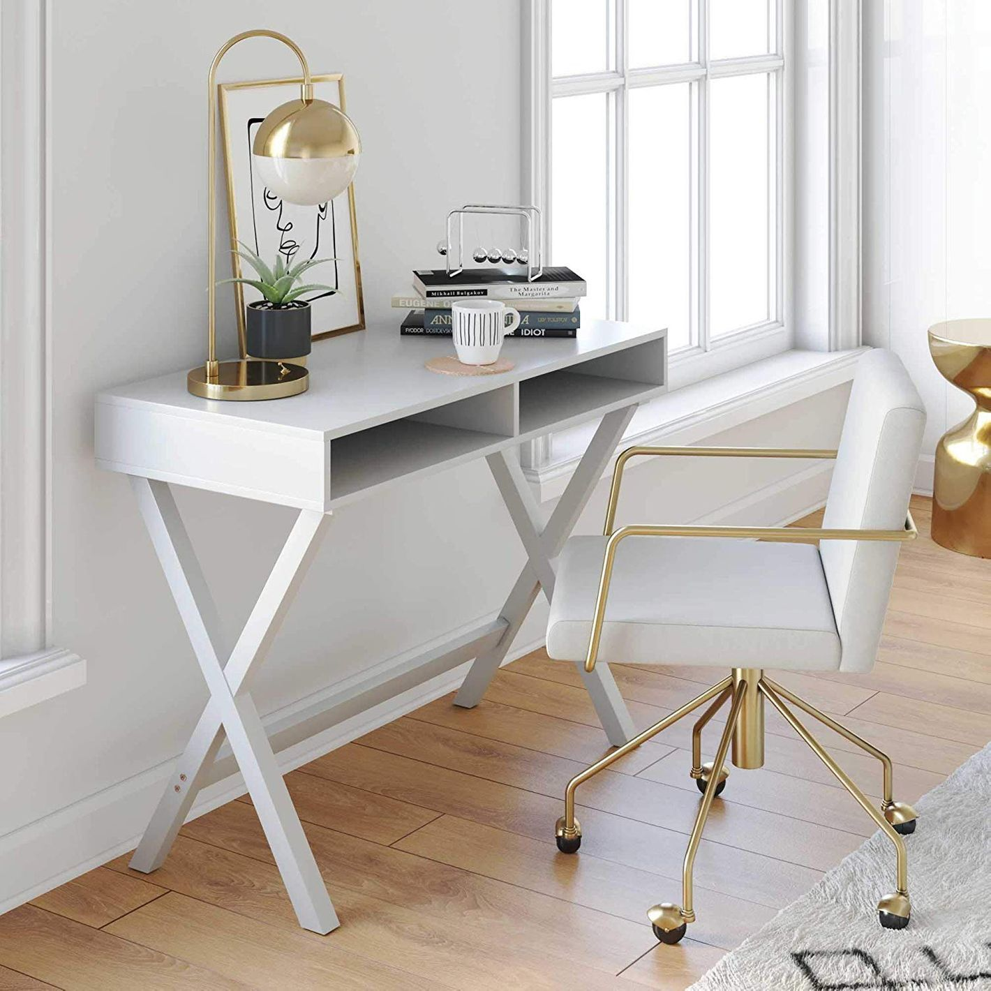 Nathan James Kalos Home Office Desk