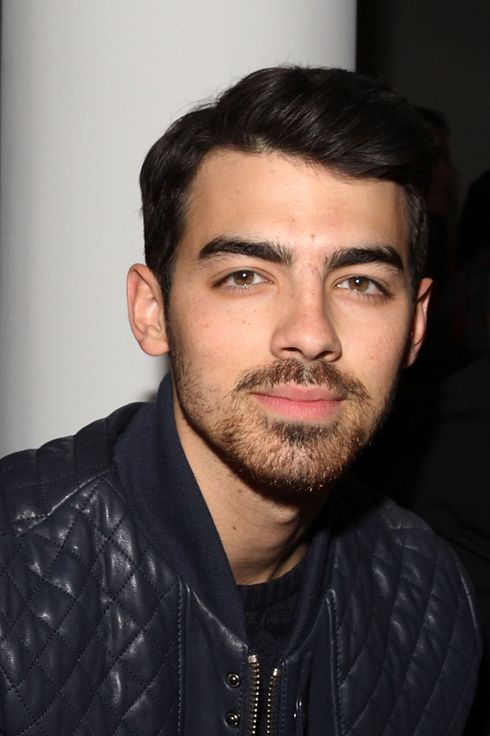 Joe Jonas attends the Costello Tagliapietra fashion show during MADE Fashion Week Fall 2014 at Milk Studios on February 6, 2014 in New York City.