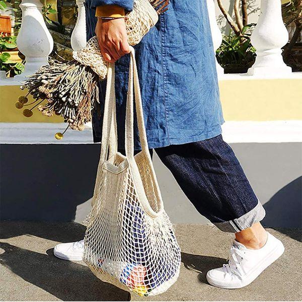 Reusable Grocery Shopping Net Bag