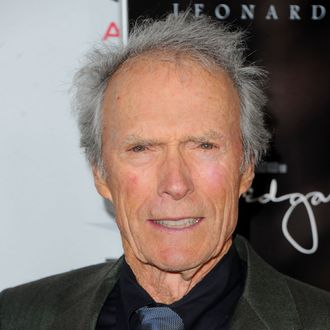 HOLLYWOOD, CA - NOVEMBER 03: Director Clint Eastwood arrives at the