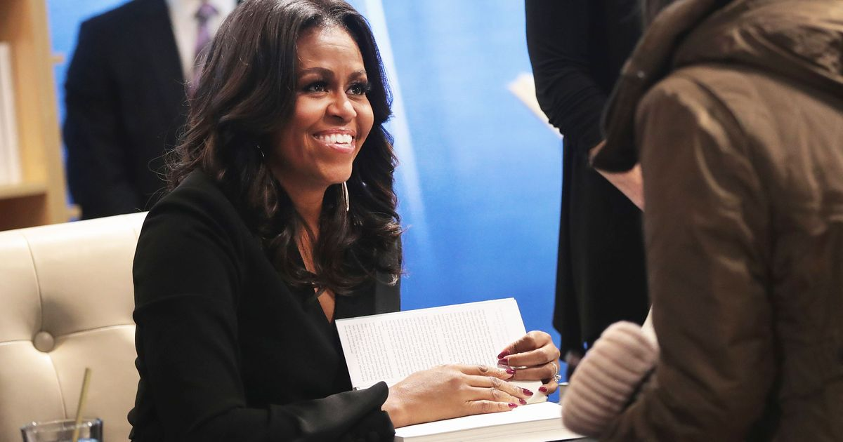 Critics Didn't Sweat Michelle's Prose Style — They Just Wanted No-Drama Obama