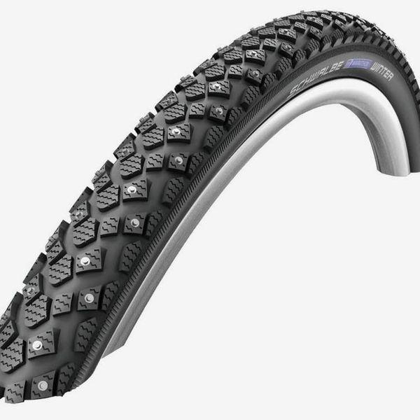 SCHWALBE Marathon Winter Plus Studded Mountain Bicycle Tire