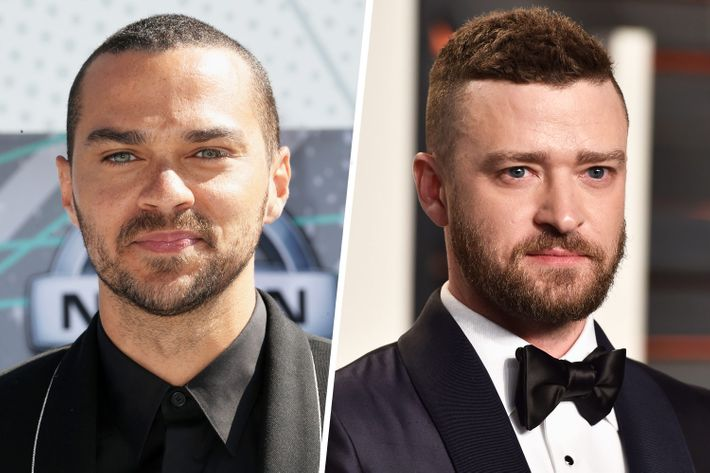 Jesse Williams and Justin Timberlake