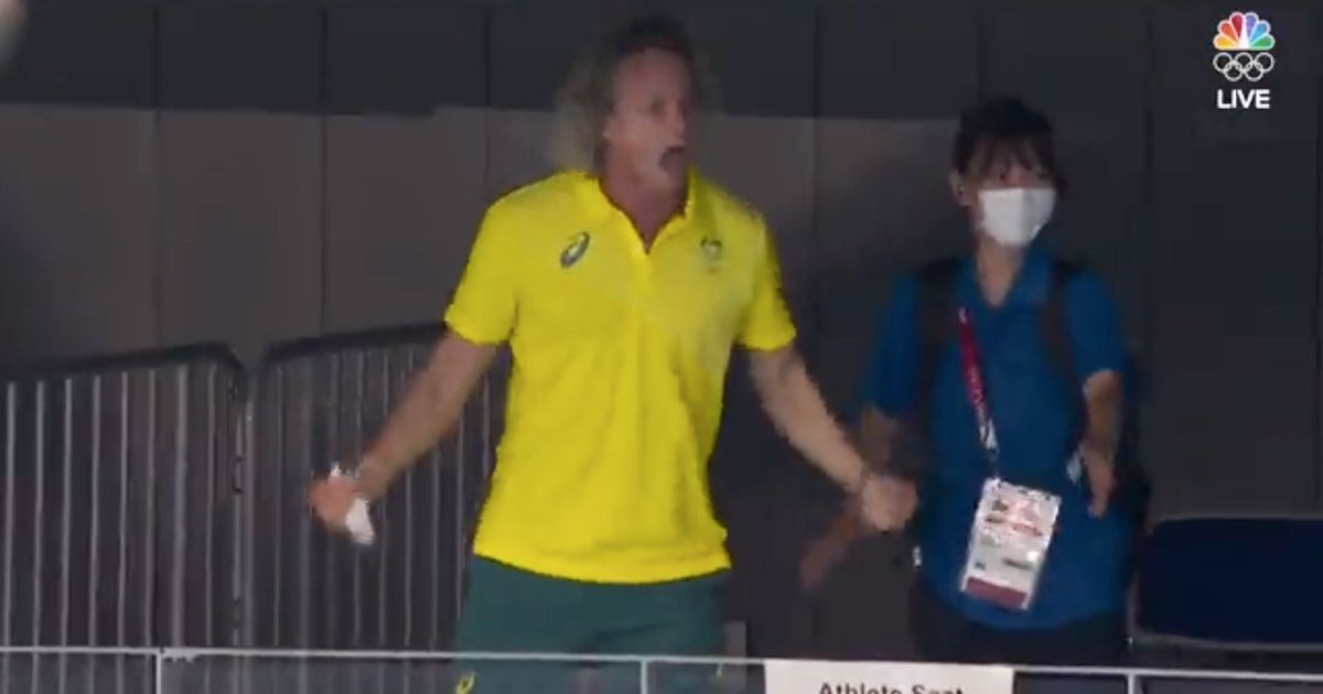 Ariarne Titmus's Swim Coach Got, Uh, Excited About Her Olympic Gold-Medal Win - Vulture