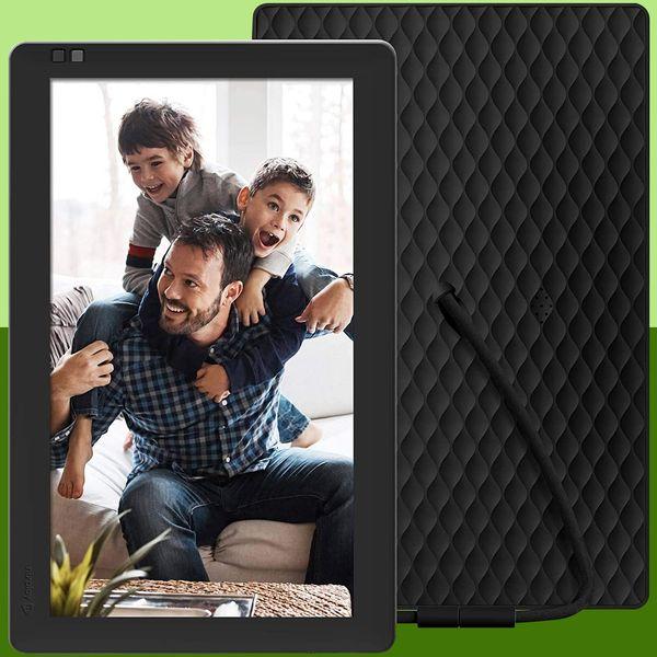 Nixplay Seed 10.1 Inch Widescreen Digital Wi-Fi Photo Frame