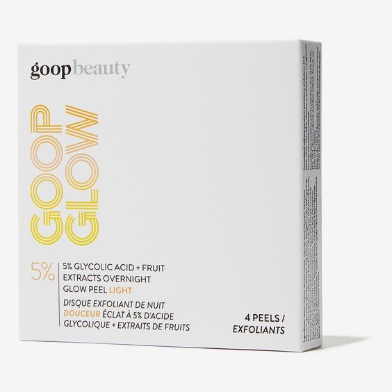 Goop Goopglow 5% Glycolic-Acid Overnight Glow Peel Light