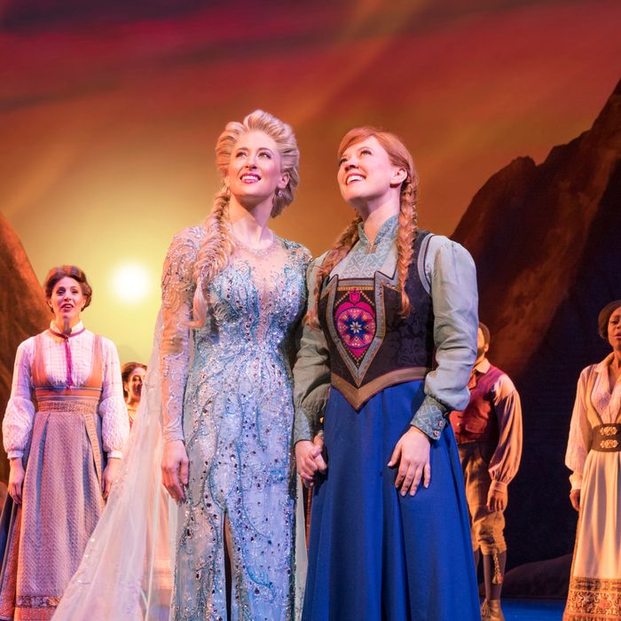 Theater Review: 'Frozen' Is in Place on Broadway, to Stay
