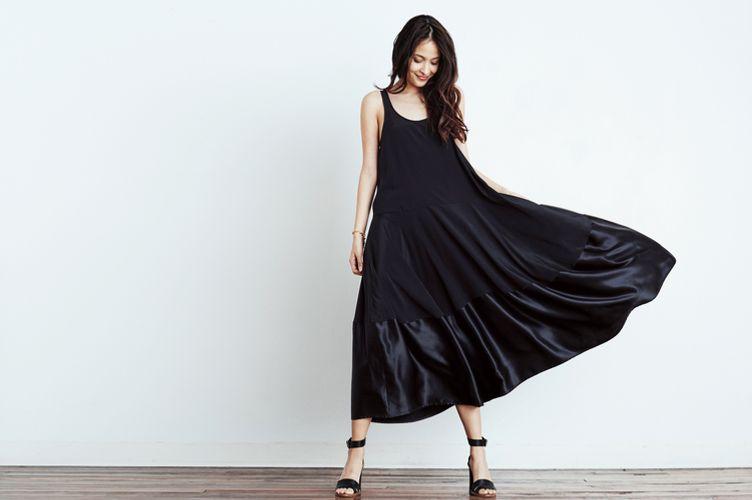 Megan Huntz Charlotte Silk Dress
