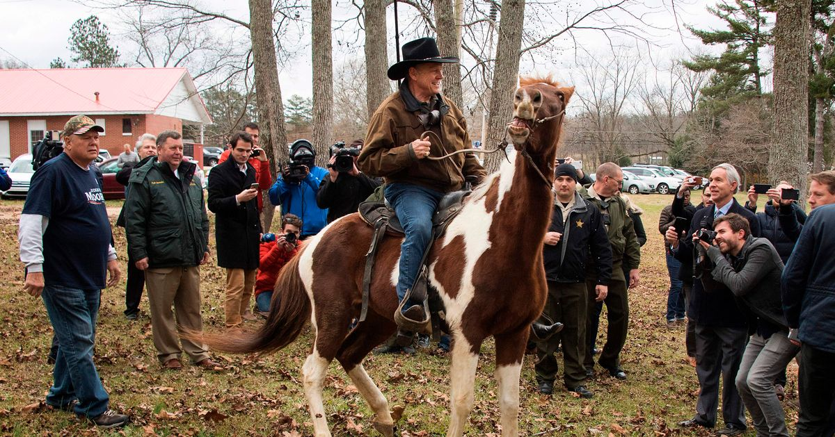 Alabama Voters to Roy Moore: F*ck you and the Horse You Rode In On.
