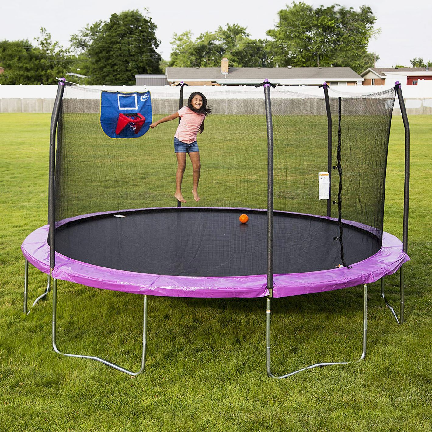 Kidwise Jumpfree 15 Ft Trampoline And Safety Enclosure: The 10 Best Trampolines 2018