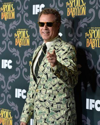 LOS ANGELES, CA - JANUARY 07: Actor Will Ferrell attends the screening of IFC's