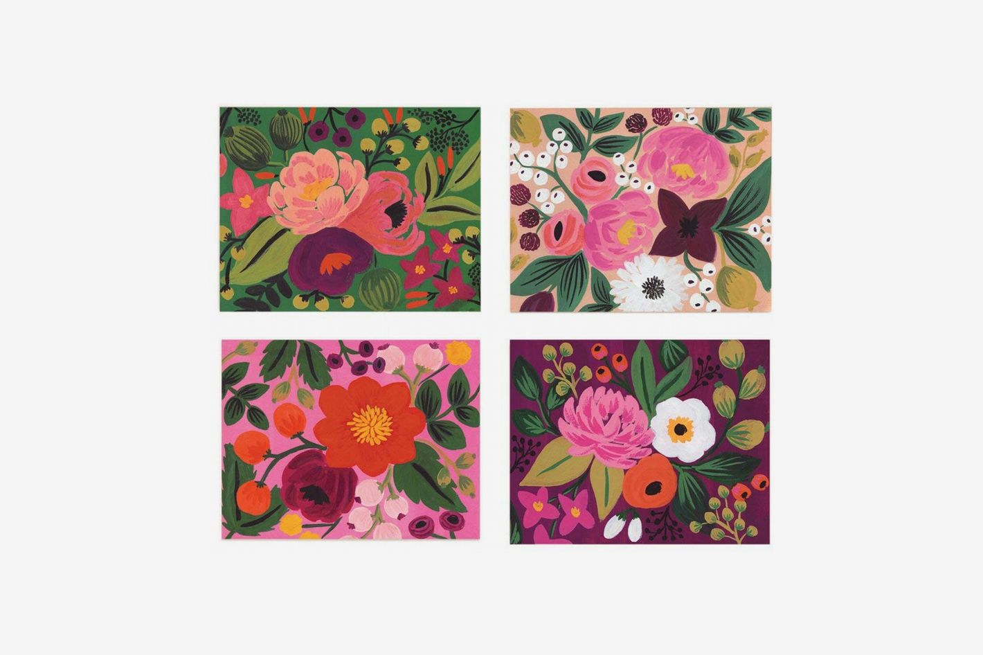 fdb031cba49b Assorted Vintage Blossom Notecards by Rifle Paper Co. - Set of 8 Cards and  Envelopes at Amazon