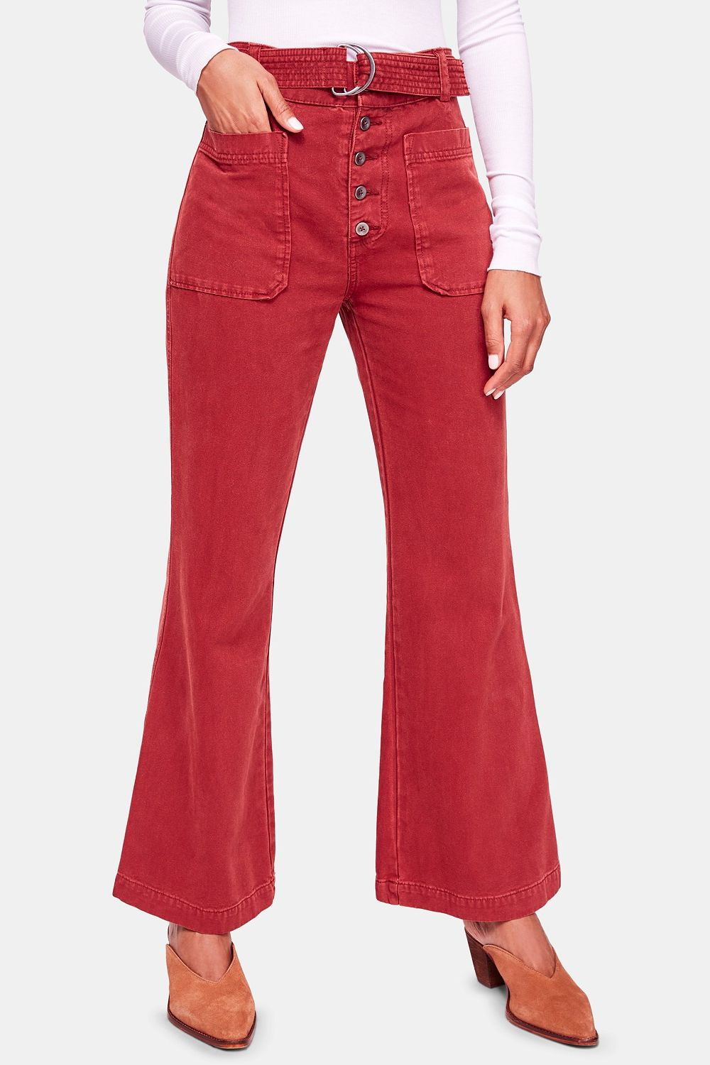 Free People Corin Flared Pants