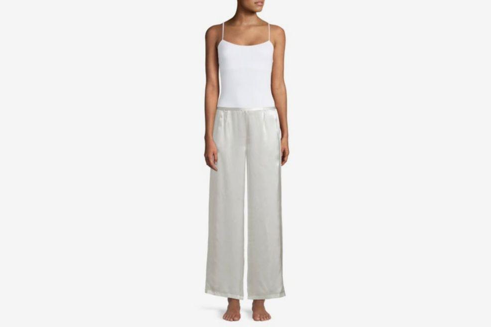 Natori Key Essentials Charmeuse Silk Pants
