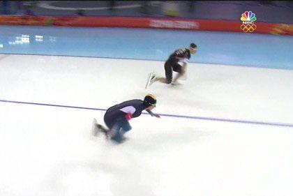 Skating fall