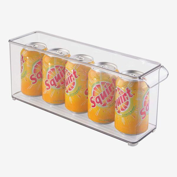 iDesign Kitchen Binz Deep Stackable Organizer with Handle