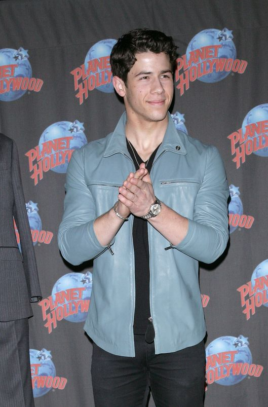 NEW YORK, NY - APRIL 09:  Actor Nick Jonas visits Planet Hollywood Times Square on April 9, 2012 in New York City.  (Photo by Jim Spellman/WireImage)