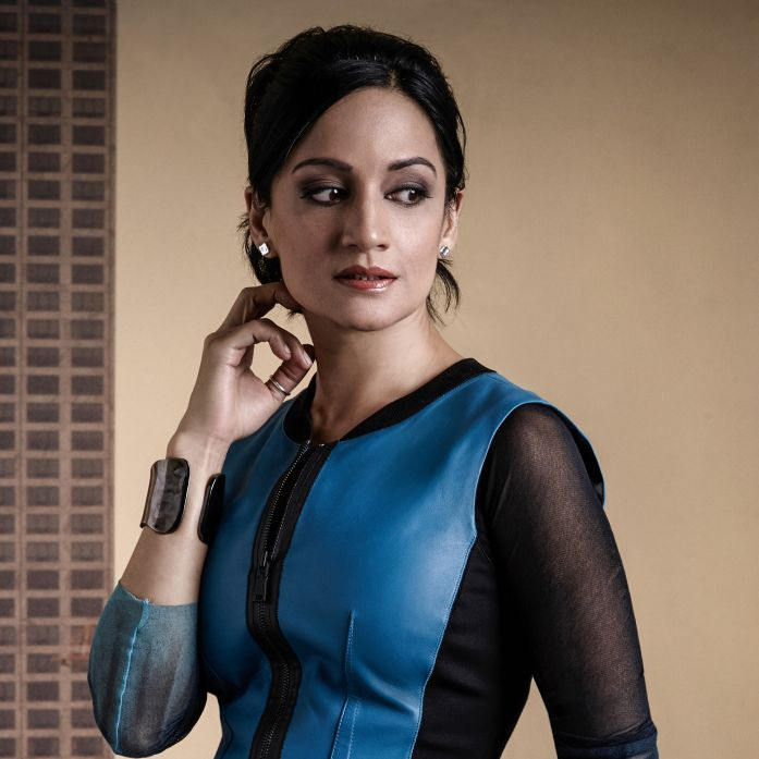 Archie Panjabi as Kalinda Sharma of the CBS series THE GOOD WIFE. Photo: Justin Stephens/CBS ?'?? 2014 CBS Broadcasting Inc. All Rights Reserved.