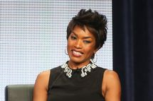 """BEVERLY HILLS, CA - AUGUST 02:  (L-R) Actress Angela Bassett speaks onstage during the """"American Horror Story: Coven"""" panel discussion at the FX portion of the 2013 Summer Television Critics Association tour - Day 10 at The Beverly Hilton Hotel on August 2, 2013 in Beverly Hills, California.  (Photo by Frederick M. Brown/Getty Images)"""