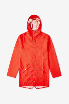 Rains Long Jacket (Tomato)