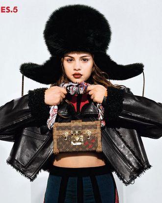 Selena Gomez in the new Louis Vuitton campaign.