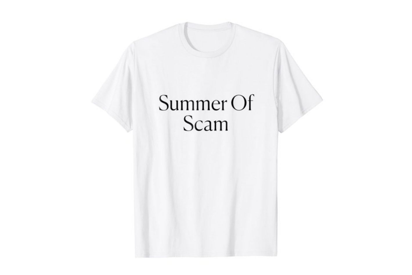 Summer of Scam tee