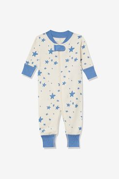 Moon and Back by Hanna Andersson Girls' One Piece Footless Pajamas